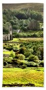 The Green Valley Of Poisoned Glen Beach Towel