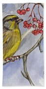 The Greenfinch Beach Towel