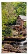 The Grist Mill Beach Towel by Steve Harrington