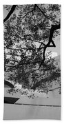 The Gugenheim In Black And White Beach Towel