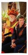 The Gypsy And The Minstrel Beach Towel