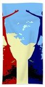 The Hand Of Friendship Beach Towel by Patrick J Murphy