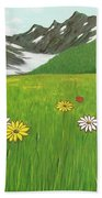 The Hills Are Alive With The Sound Of Music Beach Towel