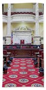 The Historic House Chamber Of Maryland Beach Towel