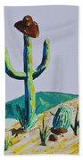 the Hold Up Beach Towel