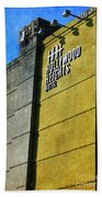 The Hollywood Heights Hotel Beach Towel