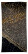 The Holy Bible Beach Sheet