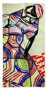 The Holy Family Beach Towel by Gloria Ssali