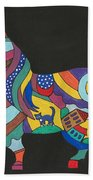 The Horse Of Good Fortune Beach Towel