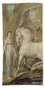 The Horse Beach Towel by William Blake