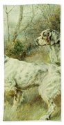 The Hunt Beach Towel by Edmund Henry Osthaus