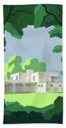 The Ideal House In House And Gardens Beach Towel