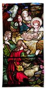 The Incarnation - Madonna And Child Beach Towel