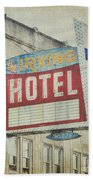 The Irving Hotel In Chicago Beach Towel