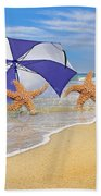 The Island To Ourselves  Beach Towel