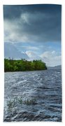 The Isle Of Inishfree...i Will Arise Beach Towel