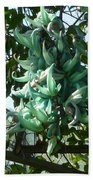 The Jade Vine Beach Towel
