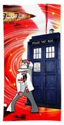 The Japanese Dr. Who Beach Towel