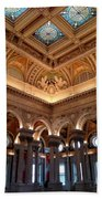 The Jefferson Building Library Of Congress Beach Towel