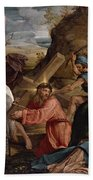 The Journey To Calvary, C.1540 Beach Towel