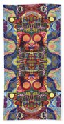 The Joy Of Design Mandala Series Puzzle 1 Arrangement 5 Beach Towel