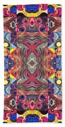 The Joy Of Design Mandala Series Puzzle 3 Arrangement 1 Beach Towel