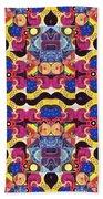 The Joy Of Design Mandala Series Puzzle 3 Arrangement 4 Beach Towel