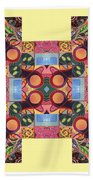 The Joy Of Design Series Arrangement - Seek And You Will Find Beach Towel