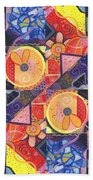The Joy Of Design Vll Arrangement Joyful Entanglements Beach Towel