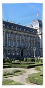 The King's Palace In Brussels Beach Towel