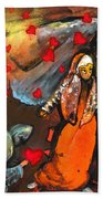 The Knight Of Your Heart Beach Towel