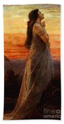 The Lament Of Jephthahs Daughter Beach Towel