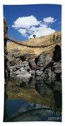 The Last Inca Rope Bridge Beach Towel