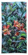 The Late Bloomers Beach Towel by Xueling Zou