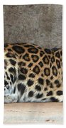 The Leopard Beach Towel