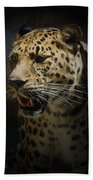 The Leopard Beach Towel