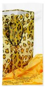 The Leopard Gift Bag Beach Towel by Diana Angstadt