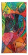 The Letter Yud Beach Towel