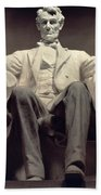 The Lincoln Memorial Beach Towel by Daniel Chester French