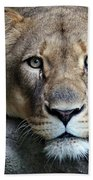 The Lion Queen Beach Towel