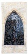 The Little Church Window Beach Towel