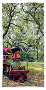 The Little Engine That Could - City Park New Orleans Beach Towel