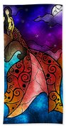 The Little Mermaid Beach Towel by Mandie Manzano