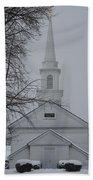 The Little White Church Beach Towel