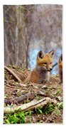The Look Beach Towel