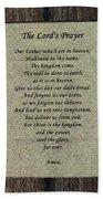 The Lord's Prayer Beach Towel