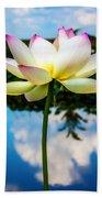 The Lotus Blossom Beach Towel