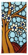 The Loving Tree Beach Towel