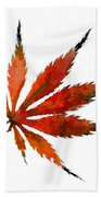 The Magical Colors Of Fall Beach Towel