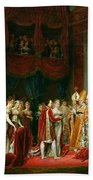 The Marriage Of Napoleon I 1769-1821 And Marie Louise 1791-1847 Archduchess Of Austria, 2nd April Beach Towel